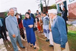 Princess Sarwat visits the school