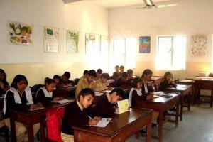 The Sun lit Classroom