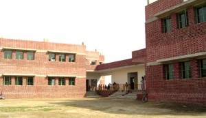 A view of the purpose-built campus