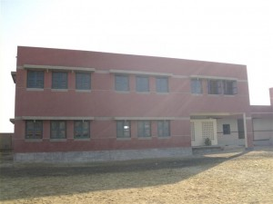 A view of the purpose built campus