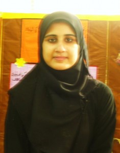 Adeela Ayaz Matriculated from this school in 2008. She secured A grade (77.7%) in the Secondary Board Examination.