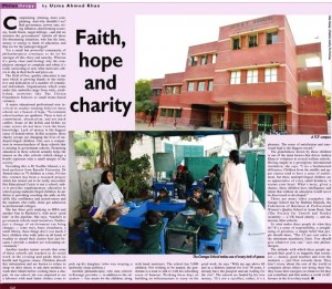 DAWN News (Feb 20, 2011): Faith, hope and charity