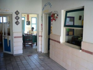 The school's accountant's room