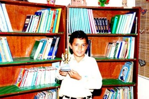 11-year-old Mubbashir Maroof writes poems on peace and happiness. He lives in one of the many urban slums sprawled in the industrial area of Karachi. This young poet is a brilliant student of TCF Secondary School – KFC Pakistan Campus, Saifal Goth.