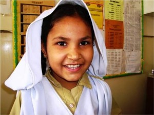 Dua is in class III and her favorite subject is Urdu. She wants to be a teacher.