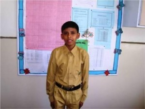 Arsalan is a student of grade VI. His father supplies confectionary items on bicycle