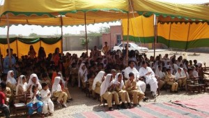 Young audience at the ceremony that marked annual result day function on April 1, 2011
