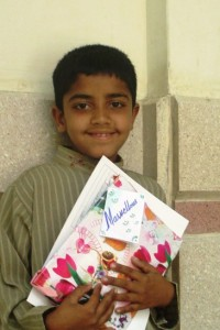 In final examination of Grade II 10 years old Khurrum Aslam secured Second Position.