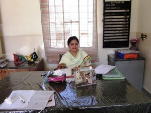 Ms. Shaista Adil, working as a Principal at TCF U.I Trust campus for the past five years