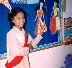 Yasmeen Yousuf is a star student in Grade III at TCF Primary School – S.A.S.A Campus in Taiser Town.