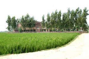 A Typical Rural Setting were TCF has taken its Purpose Built Campuses into the Heart of the Community