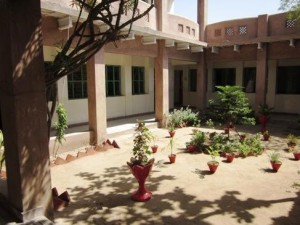 An inside view of the Campus