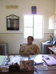 Musarrat Alahuddin, Principal of this campus