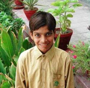 With his sparkly, naughty smile Bahadur Barkat Ali comes across as any eight year old boy.