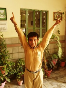 Osama is a student of grade VI at TCF secondary school – Shirin Sultan Dossa Campus VI, in Bin Qasim Town, Karachi, Sindh. This Campus was built by gracious donation from Shirin Sultan Doosa Foundation.