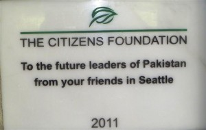 Every TCF Campus Carries such a Plaque to Honor Donors