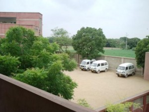 A view of the campus