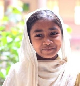1-year old Bushra Umer Din is one of the many exemplary girls in Pakistan who strive for education against all odds.