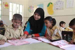 Children Getting Education