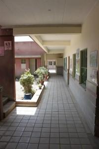 Sun-lit Corridor