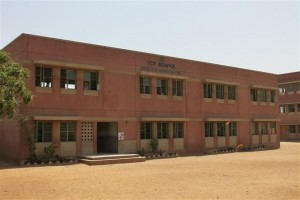 School Building and the Assembly Area