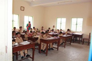 A View Inside the Class Room