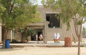 Out-Look of the Campus Building