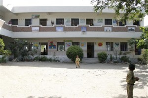 Another View of the School Building