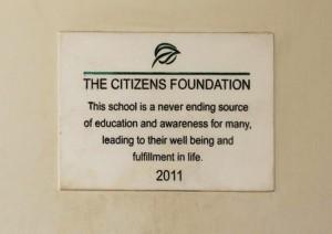 This Plaque; Our Motivation