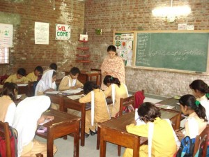 Spacious Well-lit Classroom