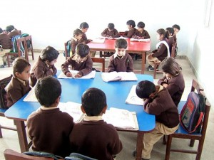 View of a primary class