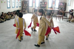 Young Ones During a Musical Skit