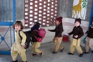 Children going Home after School