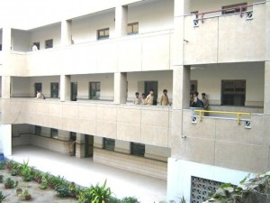 Classes on both the floors