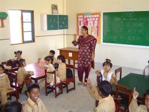 Spacious Well-lit Classroom