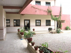 Every TCF campus has a courtyard