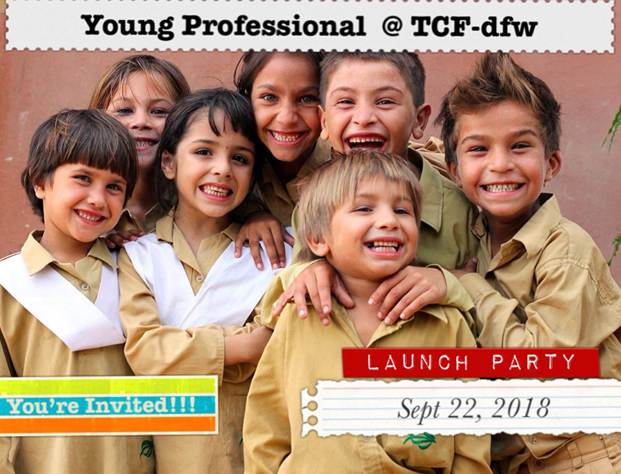 TCF-USA DFW Young Professionals Launch Ceremony
