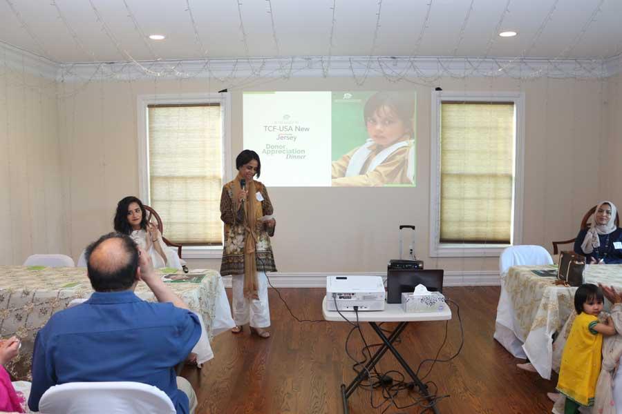 TCF-USA New Jersey: Donor Appreciation Event