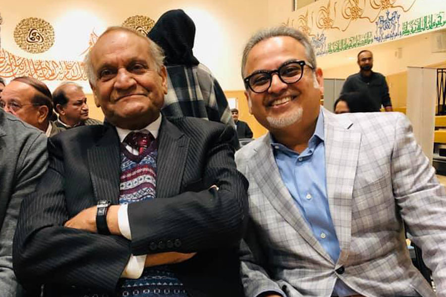 TCF-USA Portland Chapter: Tea with Anwar Masood