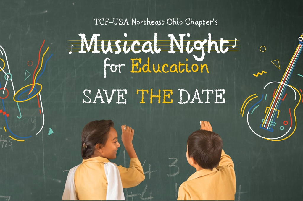 TCF-USA Northeast Ohio Chapter's Musical Night for Education