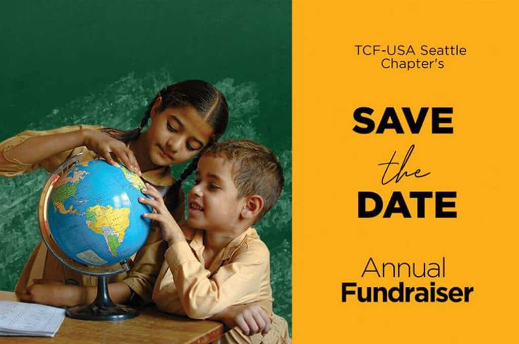 TCF-USA Seattle Chapter's Annual Fundraiser
